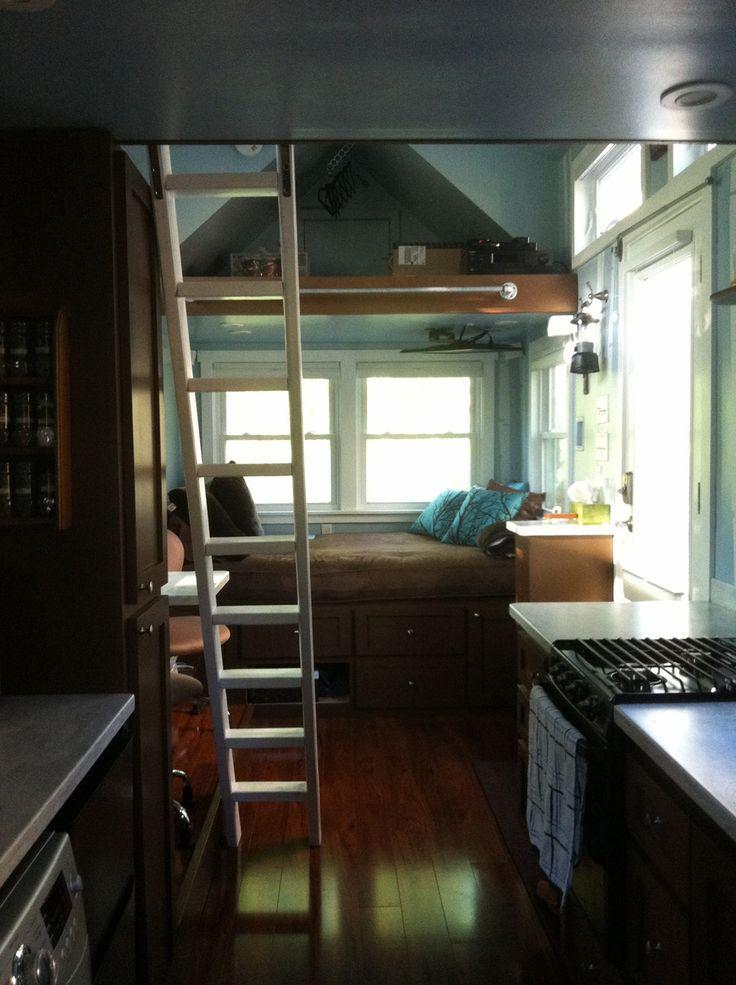 Tiny Home Designs: A 168 Square Feet Tiny House On
