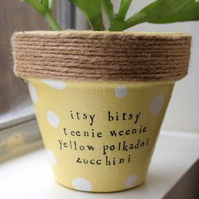 Plant puns 'n' pots by PlantPuns on Etsy