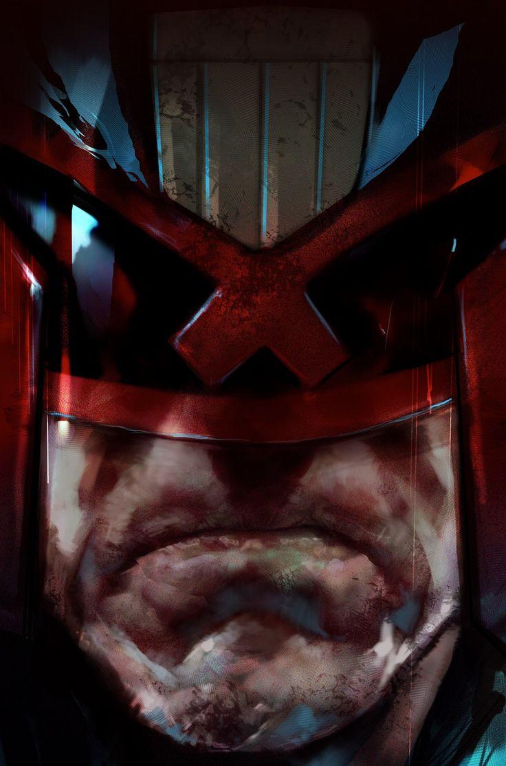 Judge Dredd by Ben Oliver *