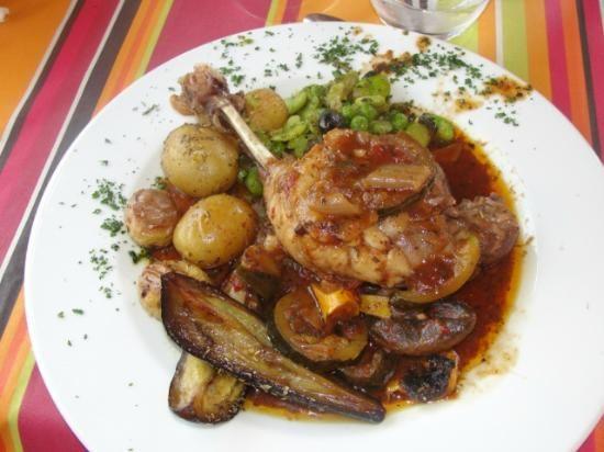 17 best images about bonnes tables on pinterest foie for Aix cuisine du terroir menu