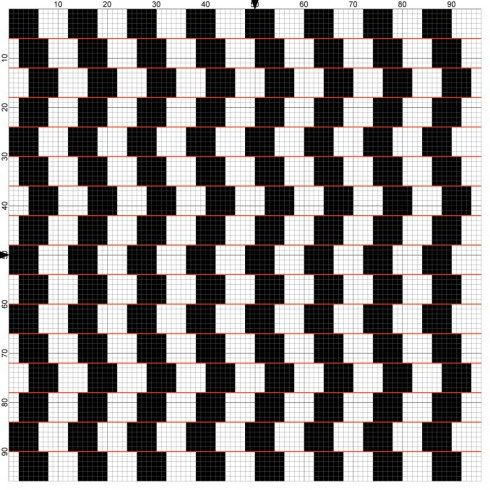 It hurts my eyes!  free chart optical illusion