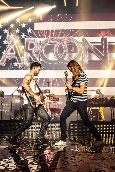 First Leg Of The Honda Civic Tour - Maroon 5