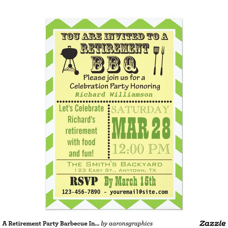 27 best retirement party images on Pinterest Retirement parties - retirement party flyer template