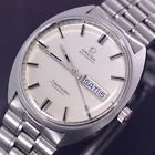 OMEGA SEAMASTER COSMIC AUTOMATIC DAY&DATE STAINLESS STEEL DRESS MEN'S WATCH