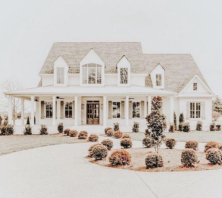 ✔63 farmhouse exterior design ideas stylish but simple look 32