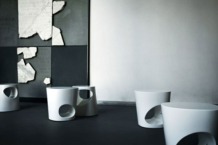Polar Side Tables by Pearson Lloyd for Tacchini. Available from Stylecraft.