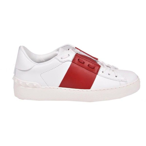 Valentino Garavani Sneakers (540 AUD) ❤ liked on Polyvore featuring shoes, sneakers, valentino trainers, valentino shoes and valentino sneakers