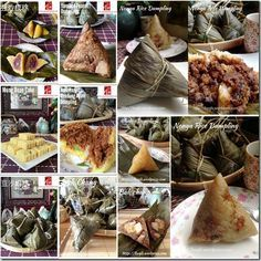 Special Compilation Of Dumpling Festival Related Recipe (端午节食谱汇编    #guaishushu #kenneth_goh    #dumplings