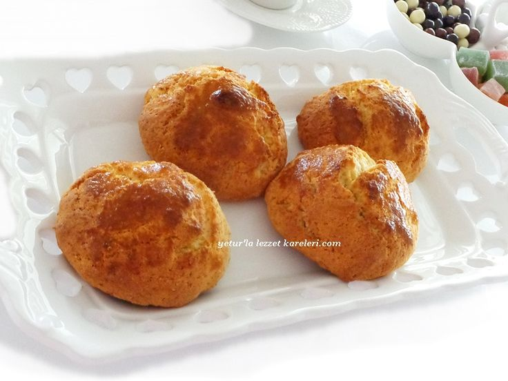yetur'la lezzet kareleri.com: tatlı lor kurabiyesi