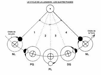 cycle de lunaison