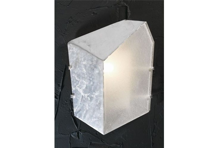 WALL LAMP WITH SILVER LEAF
