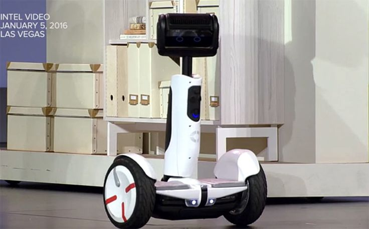 Intel Brings Back The Segway as a Hoverboard Robot - SIJUTECH