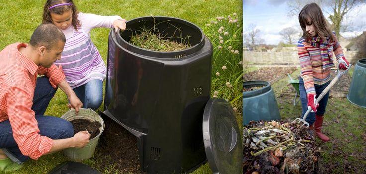 ORO NEGRO EN TU JARDÍN #compost #jardin #compostar #abono