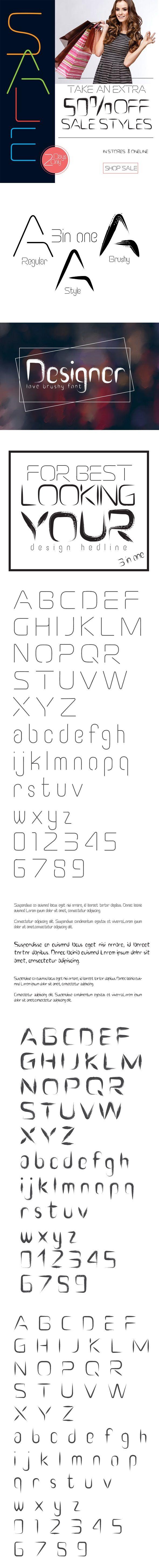 Leaf Font Download here: https://graphicriver.net/item/leaf-font/19397650?ref=KlitVogli