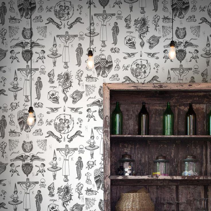 Tattoo Flash 01 Wallpaper by Liam Sparkes | FEATHR™