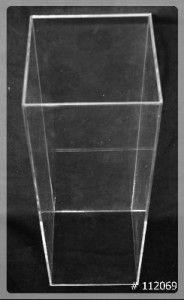 Pedestal Acrylic tall 12x12x36 inch  112069
