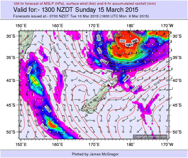 New Zealand Weather Forecast its not often we wish for one of these but with paddocks screaming for water I'll take it .