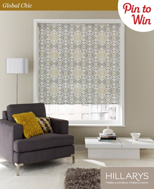 81 best pin to win images on pinterest competition hillarys global chic hillarys pinittowinit roman blindsroller blindsdiy solutioingenieria Images