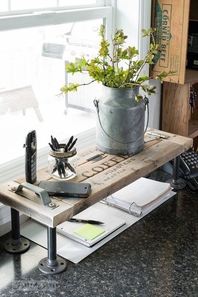 How I Doubled My Kitchen Counter Space... Thanks to a 2x4!