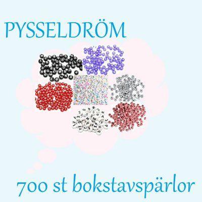 700+st+bokstavspärlor+färgmix