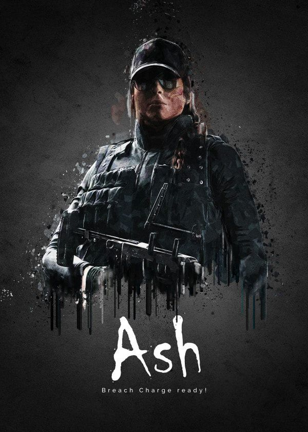 Idea By Elover04 On R6 In 2020 Rainbow Six Siege Poster Ash