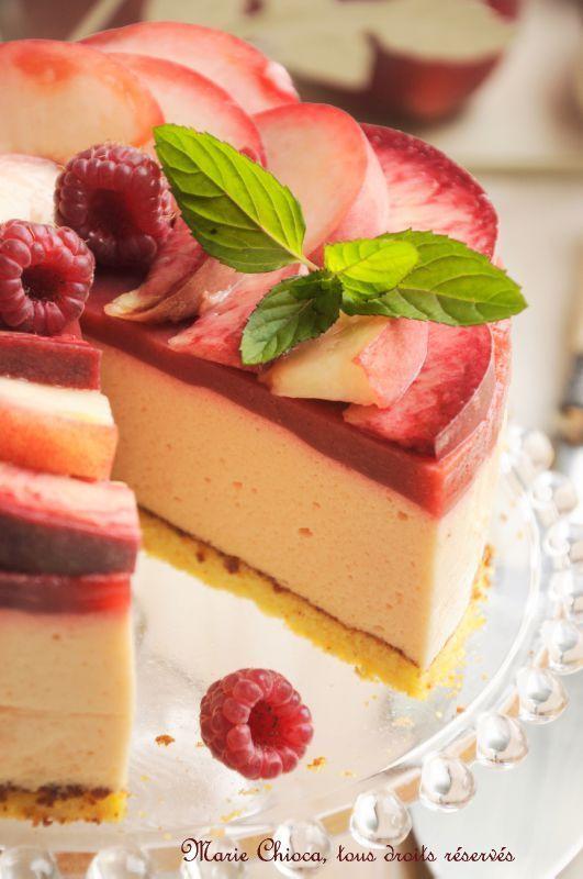 Bavarois tout léger aux fruits d'été  (Recette sans gluten, sans lait, et à IG bas)