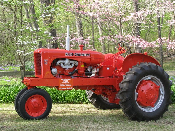 Allis Chalmers Tractor | Tractors | Pinterest | Calendar ...