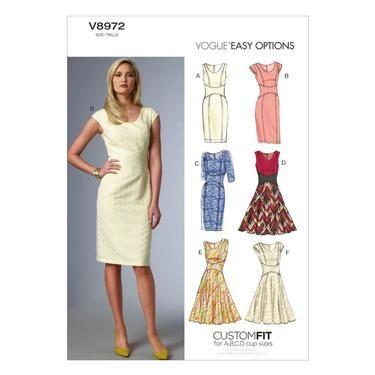 Vogue V8972 Misses' Dress