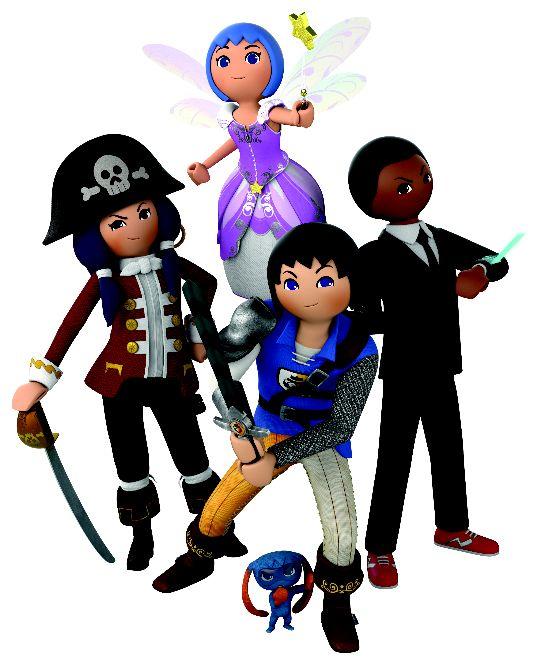 Natal arranca no Canal Panda com série baseada nos brinquedos da Playmobil