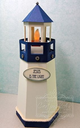 lighthouse this lighthouse template is a box that