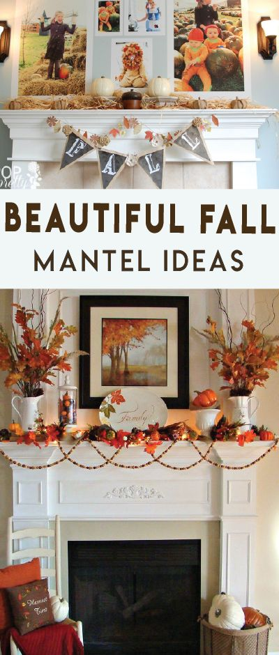 Need ideas for your Thanksgiving mantel decor? Here are some of my favorite Thanksgiving mantel ideas this year, boy are they gorgeous!