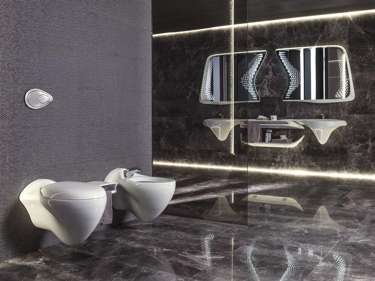 VITAE Bidet Vitae Collection by NOKEN DESIGN design Zaha Hadid Architects