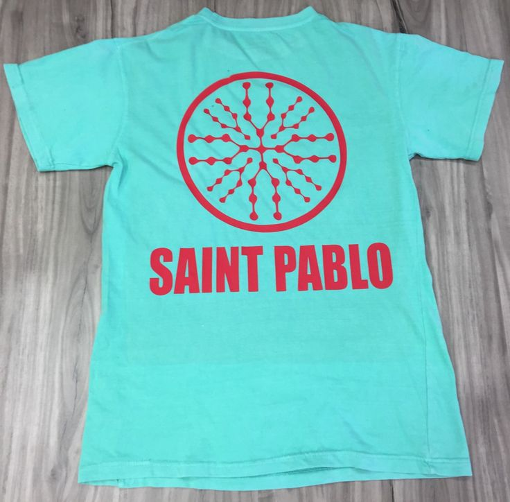 Kanye West SAINT PABLO Tour / The Life Of Pablo - exclusive T-shirt Sanit Pablo Tour (Red-Print) by CustomCityInk on Etsy https://www.etsy.com/listing/492668337/kanye-west-saint-pablo-tour-the-life-of