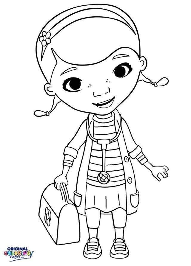 Wonderful Photo Of Doc Mcstuffin Coloring Pages Doc Mcstuffins