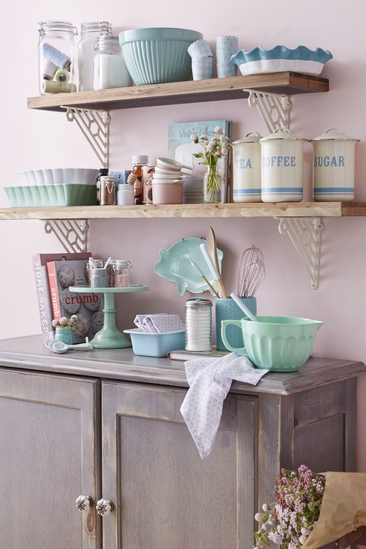 Pastel colors and retro style make a sweet spot for baking. Discover high quality bakeware and exceptional savings.
