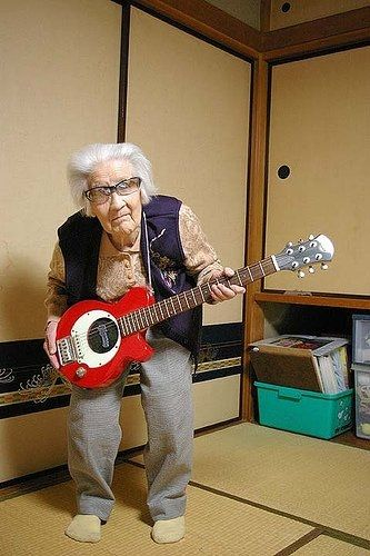 This is me in about 60 years. It will take me that long to finally learn to play!