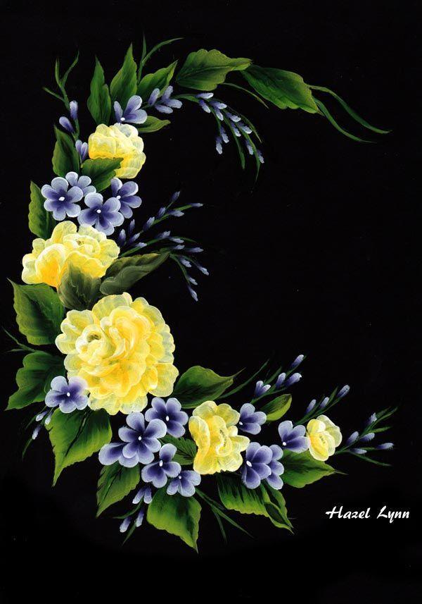 Yellow Roses. Hazel Lynn.