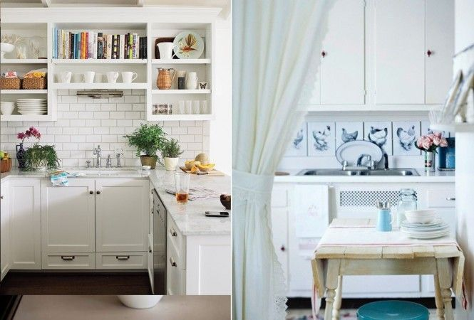 white cottage kitchen backsplash ideas