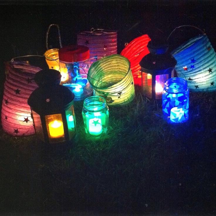 Matariki lanterns #matariki #wintersoltice
