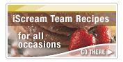 iScream Team Recipes (Blue Bunny Ice Cream Products)