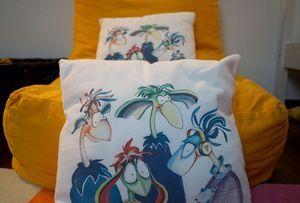 Kid pillows - bedrooms and playrooms