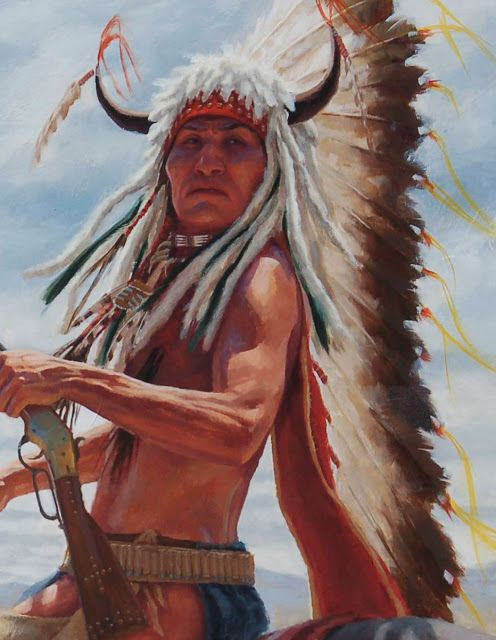 warrior native plain american - photo #18
