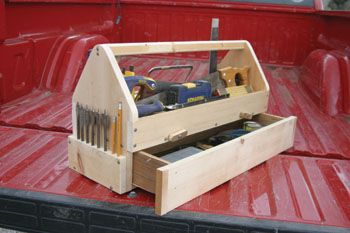 carpenters toolbox. I like the slide out draw. Its neat!