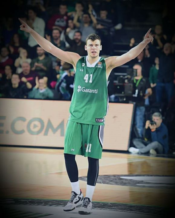 ANTE TONI ZIZIC is next starting C for Boston Celtics   He was born 4 January 1997. He was selected 23rd overall pick in the 2016 NBA Draft and he is expected to join Boston next summer.  The Croatian big man had 17 points against Real Madrid.  I love the future that's ahead Boston Celtics.  What you think?   -VladaV
