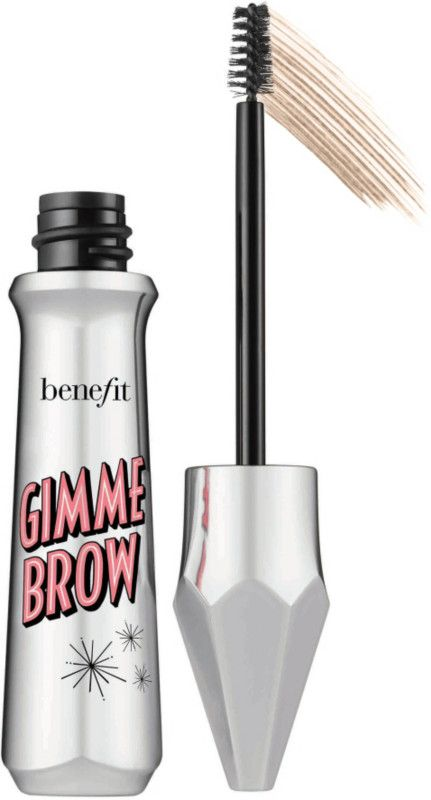 Benefit Cosmetics Gimme Brow Volumizing Fiber Gel... I use the lightest shade, this is the easiest product to use and makes such a powerful natural-looking difference. Super overpriced, but easy enough to use on the go anytime anywhere.