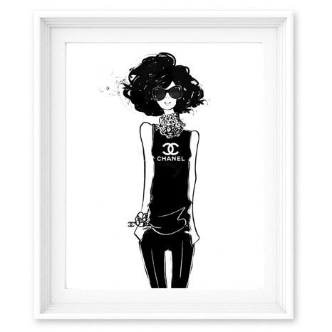 Limited Edition Print - Chanel Girl