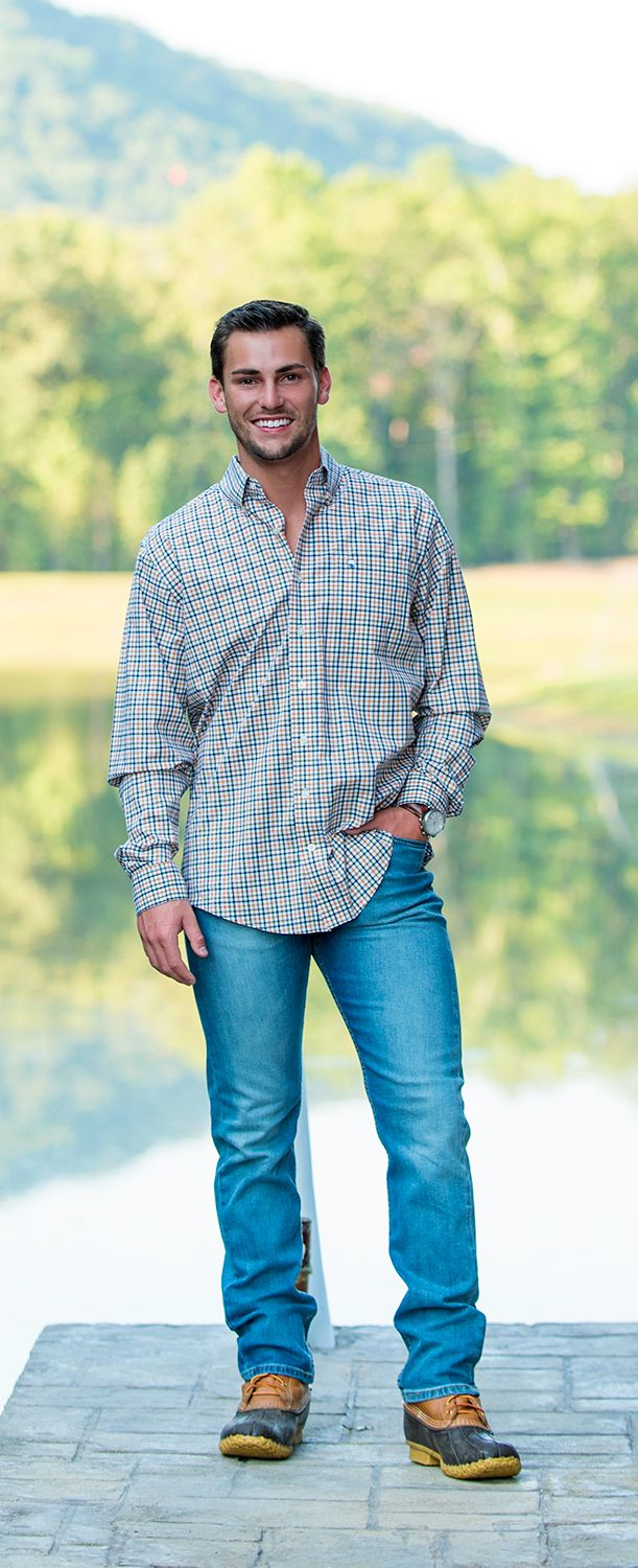 Look sharp this fall in our Yorkshire Check LS #buttondown #menstyle #fashion #ootd #southernshirt