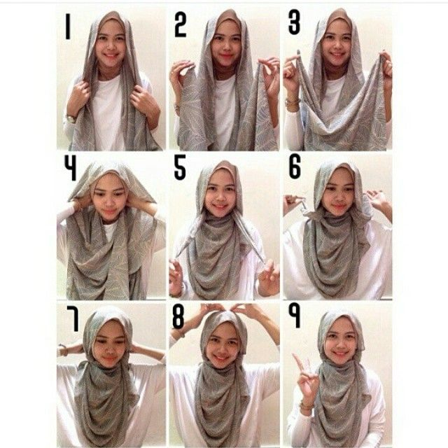Style your hijab #tutorial
