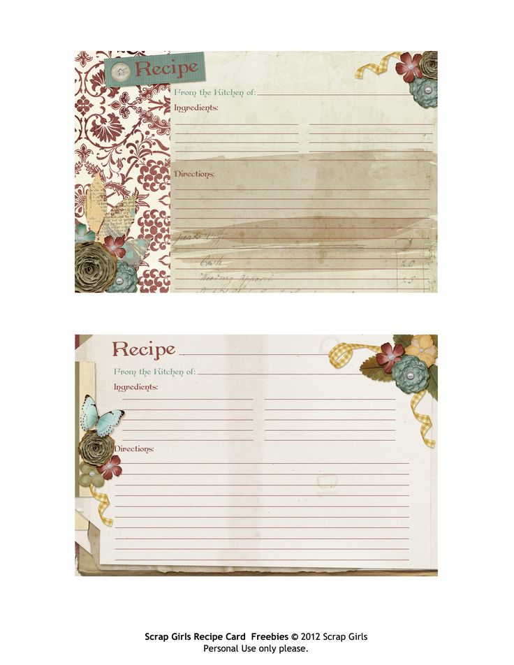 Best 25+ Printable recipe cards ideas on Pinterest Recipe cards - recipe card