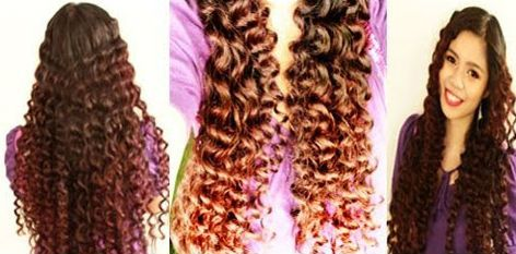 Learn how to curl your hair with drinking straws. Pretty cool!